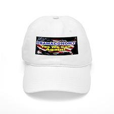 Obamaconomy-blue Baseball Cap