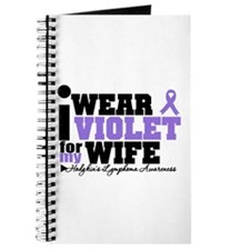 I Wear Violet For My Wife Journal