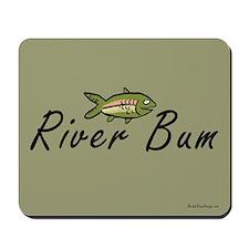River Bum Trout Mousepad