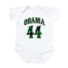 Obama Camo 44th President Infant Bodysuit
