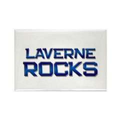 laverne rocks Rectangle Magnet