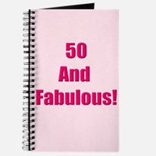 50 and Fabulous Journal