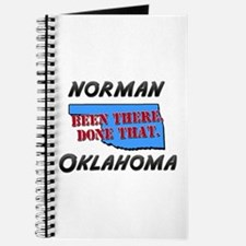 norman oklahoma - been there, done that Journal