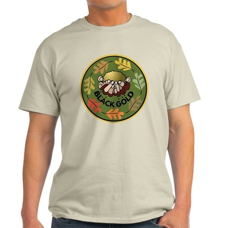 Black Gold Composting Light T-Shirt