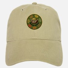 Black Gold Composting Baseball Baseball Cap