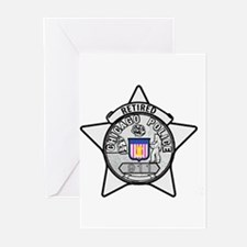 Retired Chicago PD Greeting Cards (Pk of 10)