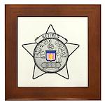 Retired Chicago PD Framed Tile