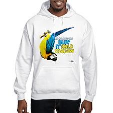 Blue & Gold Macaw Hoodie