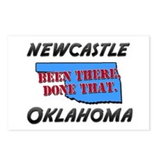 newcastle oklahoma - been there, done that Postcar