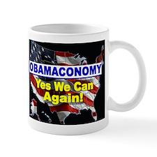 Obamaconomy-blue Mug