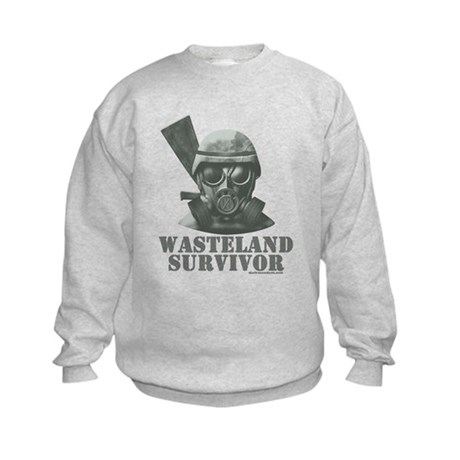 Wasteland Survivor Kids Sweatshirt