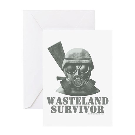 Wasteland Survivor Greeting Card