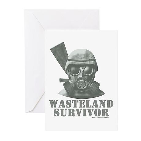 Wasteland Survivor Greeting Cards (Pk of 10)