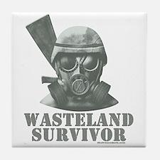 Wasteland Survivor Tile Coaster