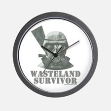 Wasteland Survivor Wall Clock
