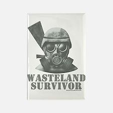 Wasteland Survivor Rectangle Magnet