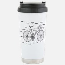 Bicycle Anatomy Travel Mug