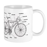 Bicycle Small Mugs (11 oz)