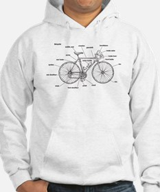 Bicycle Anatomy Hoodie