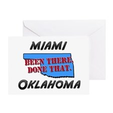 miami oklahoma - been there, done that Greeting Ca