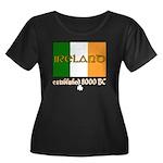 Ireland: Established 8000 BC Women's Plus Size Sco