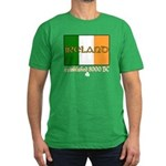 Ireland: Established 8000 BC Men's Fitted Green T