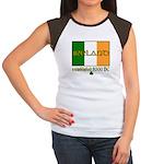 Ireland: Established 8000 BC Women's Cap Sleeve T-