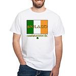 Ireland: Established 8000 BC White T-Shirt