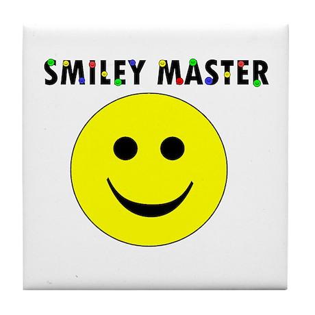 Smiley Master Tile Coaster