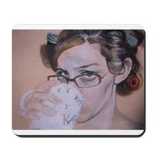 Morning Coffee Mousepad