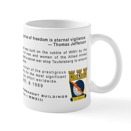 Field Station Berlin 50th Anniversary Mug