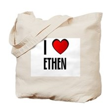 I LOVE ETHEN Tote Bag