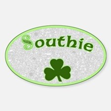 Southie Irish Oval Decal