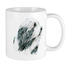 Grey Bearded Collie Beardie Mug