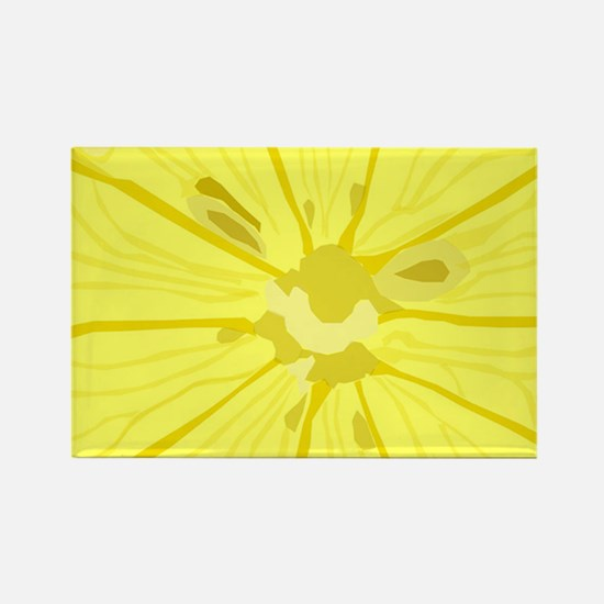 Lemon Slice Rectangle Magnet