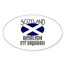 Scottish Independence Oval Decal