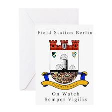 Field Station Berlin Greeting Card