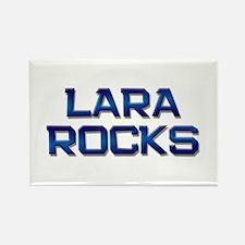 lara rocks Rectangle Magnet