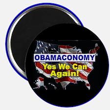 Obamaconomy-blue Magnet