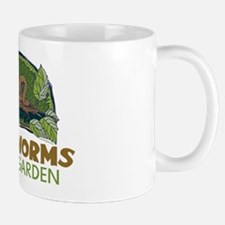 Garden Earthworms Mug