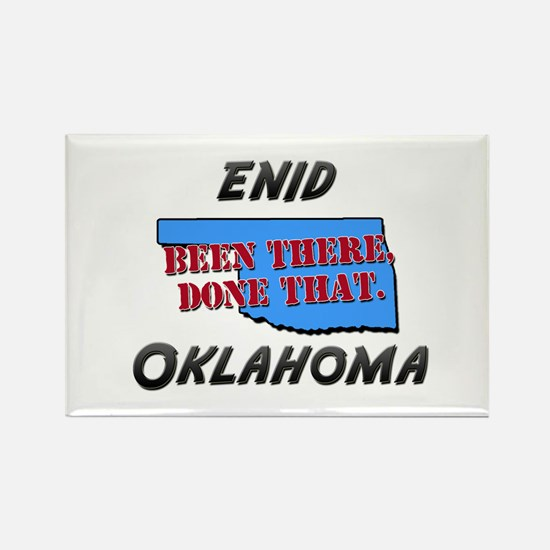 enid oklahoma - been there, done that Rectangle Ma