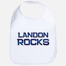 landon rocks Bib