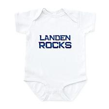 landen rocks Infant Bodysuit
