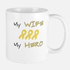 Hero Wife Peach Mug