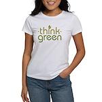 Think Green [text] Women's T-Shirt