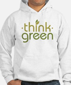 Think Green [text] Jumper Hoody