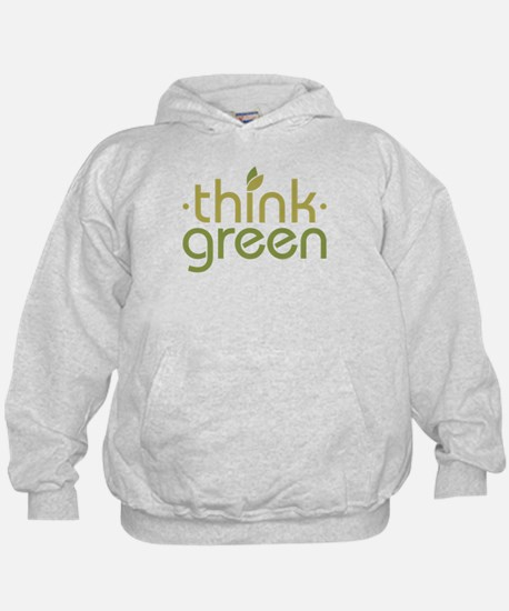 Think Green [text] Hoody