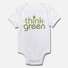 Think Green [text] Infant Bodysuit
