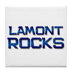 lamont rocks Tile Coaster