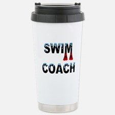 Swim Coach Stainless Steel Travel Mug